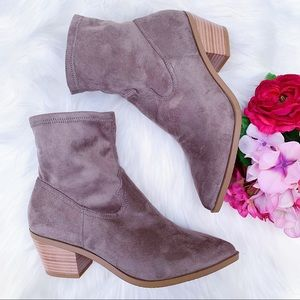 Abound Suede Booties NEW Size 7 $49